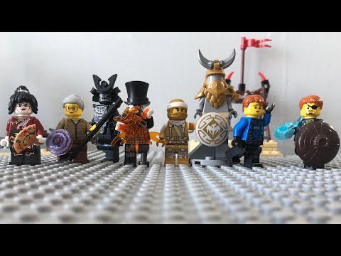 Lego ninjago Hunted Episode 8 : Blend in and the dragon armour