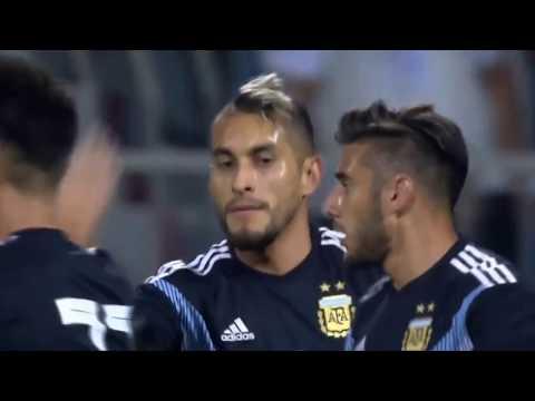 Argentina vs Iraq 4-0 GOALS & Match Facts | Friendly Match 2018