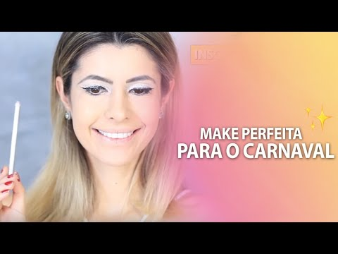 Maquiagem Prata - by CAROL TOGNON