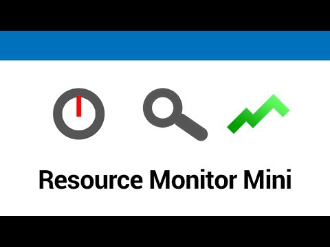 Video of Resource Monitor Mini