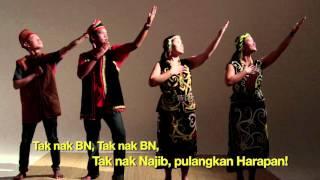 Video Tak Nak BN! MP3, 3GP, MP4, WEBM, AVI, FLV Mei 2018