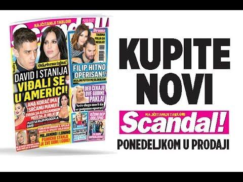 SCANDAL NOVINE: Filip Živojinović hitno operisan! David i Stanija s tajno viđali u Americi! Luna i Miljana ozbiljno bolesne!