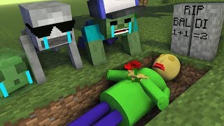Video Monster School : RIP BALDI'S - Minecraft Animation MP3, 3GP, MP4, WEBM, AVI, FLV Januari 2019