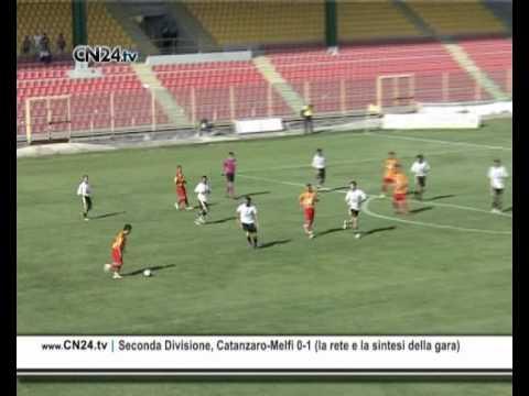 Seconda Divisione, Catanzaro-Melfi 0-1