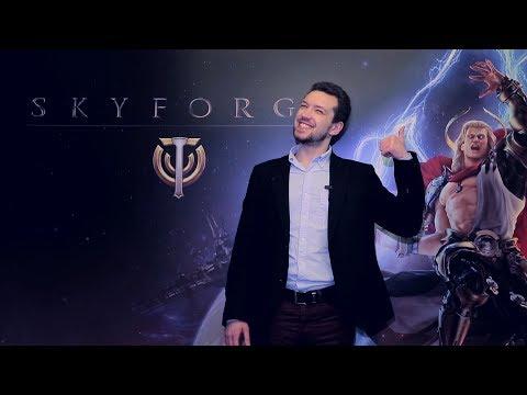 Анонс Skyforge в Москве