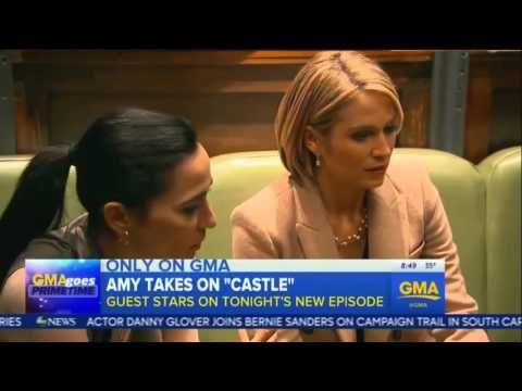 GMA:Behind the Scenes of ABC's #Castle(160222)