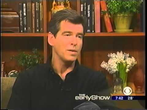 The Early Show: Pierce Brosnan Interview (2002)