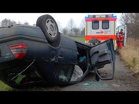 Zuckerschock: Fahrerin überschlägt sich