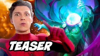 Spider-Man Far From Home Teaser - Mysterio and New Suits Breakdown