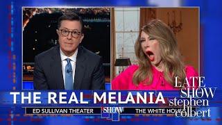 Video Melania Trump Denies Using A 'Fake Melania' MP3, 3GP, MP4, WEBM, AVI, FLV Maret 2019
