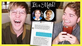 Video READING OUR TINDER CONVERSATION with GARRETT! MP3, 3GP, MP4, WEBM, AVI, FLV Juli 2018