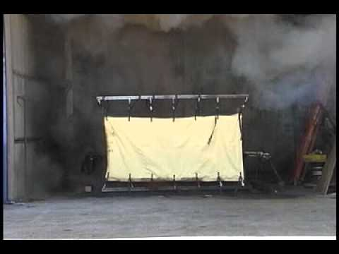 Arc Flash Supression Blankets - Oberon Video Image