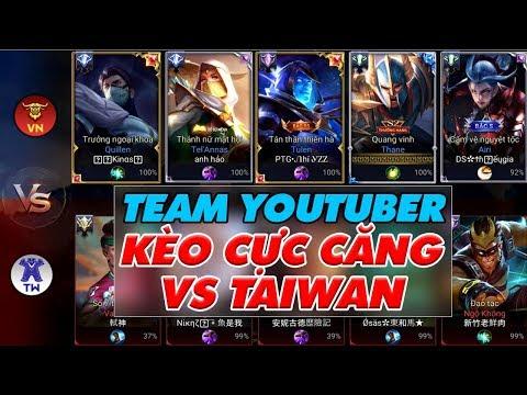 ĐẠI CHIẾN THẾ GIỚI CỰC CĂNG YOUTUBER VIỆT NAM vs CAO THỦ ĐÀI LOAN |Chiến thuật CỰC DỊ của TAIWAN|LQM - Thời lượng: 14 phút.