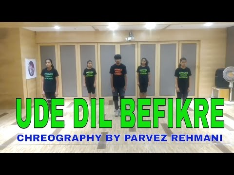 UDE DIL BEFIKRE DANCE VIDEO - BEFIKRE -VANI KAPOOR - RANVEER- PARVEZ REHMANI