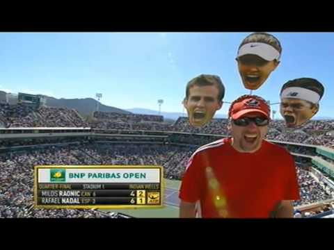 Funny Moments in Tennis Ever Full HD 2015