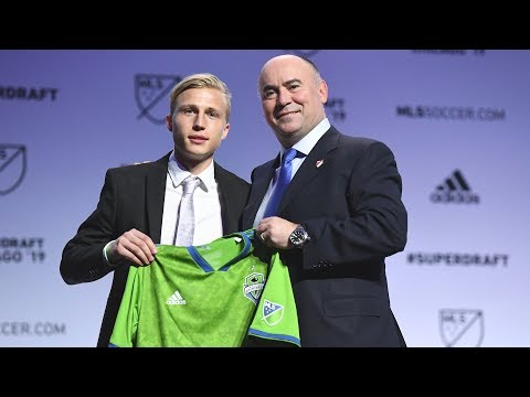 Video: Interview: Joel Rydstrand on being selected in the second round of the 2019 MLS SuperDraft