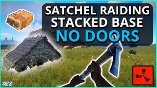 RAIDING A RICH BUNKER Base With NO DOORS!! Rust Solo Survival Gameplay Part 6