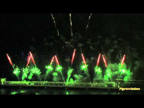 Monaco &#8211; Fireworks festival 2012 &#8211; Pyrovision &#8211; Austria