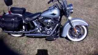 9. 2011 Harley Davidson Softail Heritage Classic  FLSTC