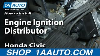 3. How To Install Replace Engine Ignition Distributor 1996-98 Honda Civic