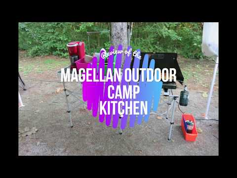 Review Of The Magellan Outdoor Camp Kitchen