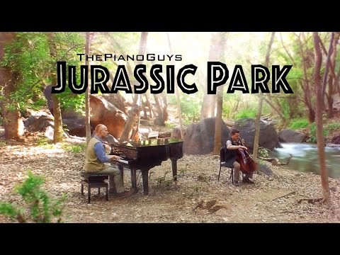 """Jurassic Park Theme"" - 65 Million Years In The Making! - The Piano Guys"