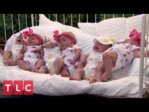 The Six-Month Photo Shoot | Sweet Home Sextuplets