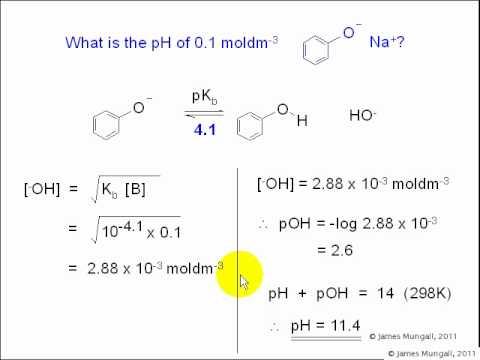 ph pka and pkb relationship test