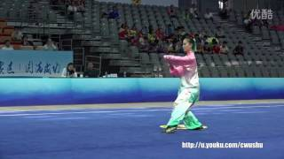 2016 china wushu championshipfemale taijiquan ju wenxin 4st place
