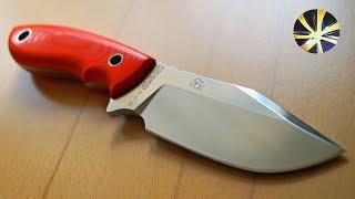 Jesper Voxnaes Denmark & Fox Knives Maniago Italy NJALL Allround Messer EDC Böhler N690C G10 § 42a WaffG konform...