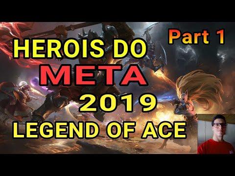 OS HERÓIS META 2019 PART 1 \\\LEGEND OF ACE/// MILIONAIRE