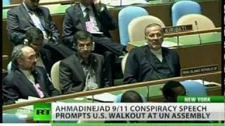 Video Ahmadinejad 9/11 jibe sparks US walkout at UN assembly MP3, 3GP, MP4, WEBM, AVI, FLV Juli 2018