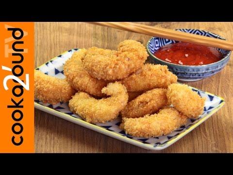 gamberi fritti croccanti - ricetta