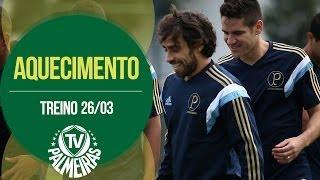 O Verdão se preparou para o jogo contra o Bragantino nesta quarta-feira, na Academia de Futebol. Confira imagens.
