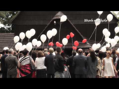 Balony z helem na ślub i wesele