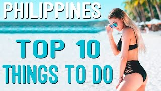These are the top 10 places to see in the Philippines. The Philippines is a must visit if you are traveling around Southeast Asia.