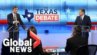 Video Ted Cruz and Beto O'Rourke square off in final debate before midterm election MP3, 3GP, MP4, WEBM, AVI, FLV Oktober 2018