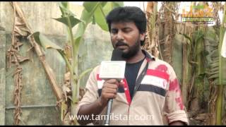Vijay Ram Speaks at Prabha Shooting Spot