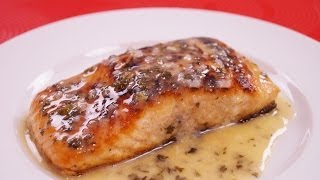 Recipe: How to make Salmon with Lemon Butter Sauce: Easy Pan Seared Salmon! Recipe with instructions and measurements ...