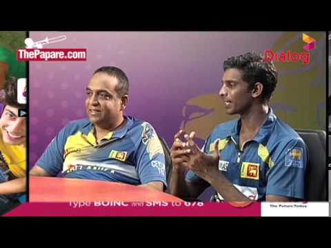 Sangakkara & Mathews - Press conference after the 1 wicket win at MCG in 2010