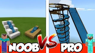NOOB vs PRO: WATER PARK in Minecraft PE
