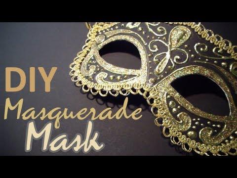 come realizzare una maschera di carnevale