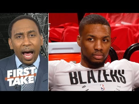 Blazers have no answer for The Joker,  Nuggets in 7 – Stephen A. | First Take