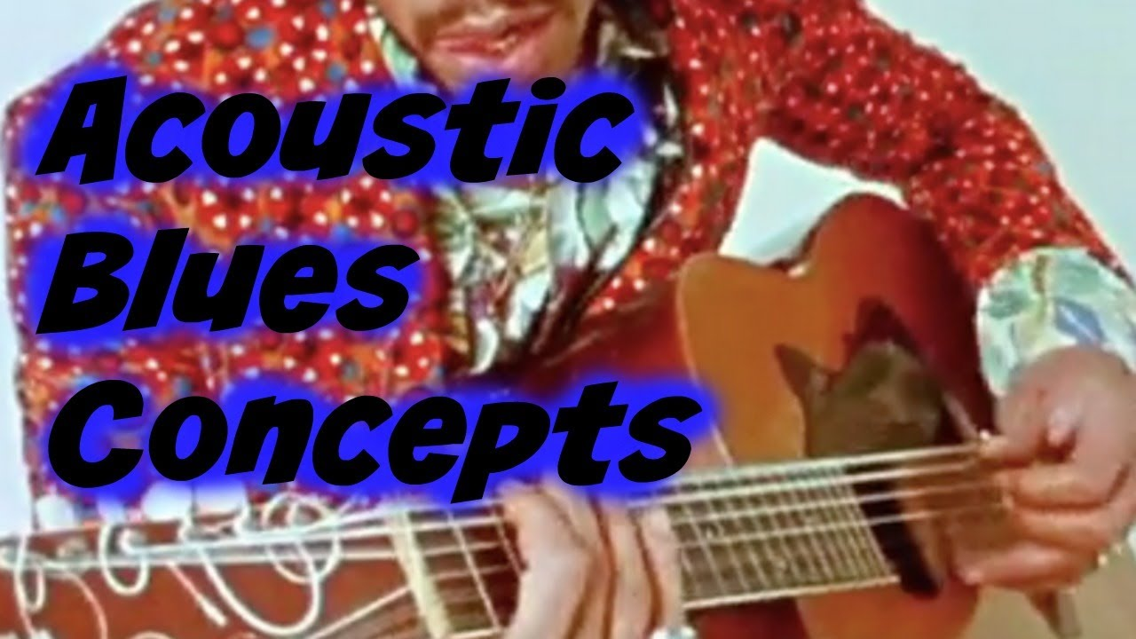 3 Acoustic Blues Concepts EVERY guitarist should know