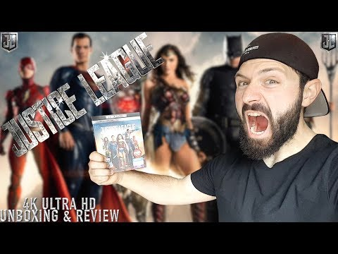 Justice League 4K Ultra HD - Unboxing & Review | BLURAY DAN