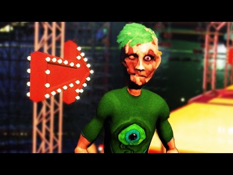 JACKSEPTICEYE CHARACTER IN GAME | Ben and Ed Blood Party #1 (видео)