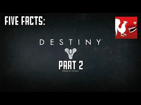 Facts - Geoff and Michael bring you another five facts over Destiny. Watch Part 1: http://bit.ly/1sM7rMm RT Store: http://bit.ly/Zfbvrw Rooster Teeth: http://roosterteeth.com/ Achievement Hunter:...