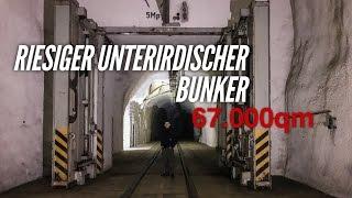 LOST PLACES - Riesige unterirdische Bunkeranlage - 67.000qm - URBEX - Project History - deutsch