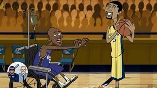 When Jalen Rose Dunked On Michael Jordan | Jalen & Jacoby | ESPN