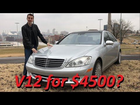 Guy buys broken Mercedes S600 V12 for 4500